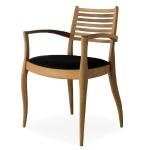 Le sedie in legno naturale
