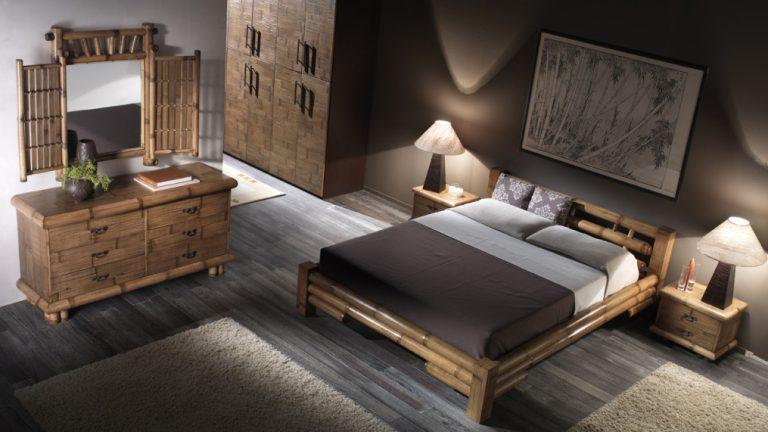 camera da letto in stile etnico